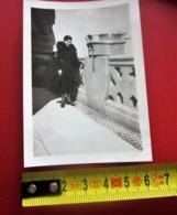 19-3-1936 En HAUT DE LA TOUR DE N.D. DE LA GARDE MARSEILLE -Photographie-Photo Originale  Photos - Luoghi