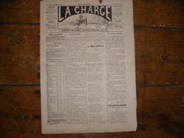 - JOURNAL, LA CHARGE Du 22 Décembre 1889, 2 Pages, BE - Periódicos