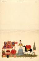 Mexique - Mexico - Illustrateur - Illustrateur A Identifier - Carte Double - 2 Volets - Semi Moderne - état - Maurice