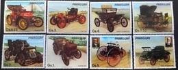 Paraguay 1986** Mi.3965-71  Ancient Cars, MNH [21] - Autos