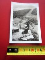 11-7-1936 BELVÉDÈRE DU FRÈRE JOSEPH Ventron,Vosges,cantondeSaulxures-sur-Moselotte-Photographie-Photo Originale Photos - Plaatsen