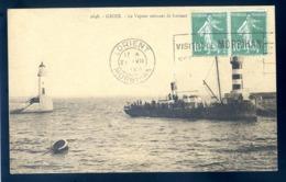Cpa Du 56  Groix Le Vapeur Arrivant De Lorient   LZ63 - Groix