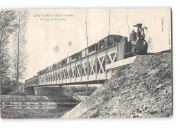 CPA 45 Chatillon Coligny Le Pont Et Le Train Tramway - Chatillon Coligny