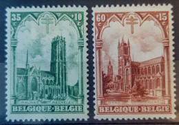 BELGIUM 1928 - MLH - Sc# B80, B81 - Belgique