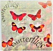 Lesotho 2004**Mi.1890-93 Butterflies , MNH [4;39] - Pflanzen Und Botanik