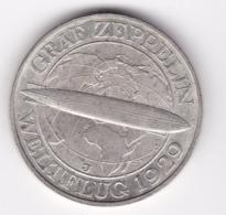 Nb_ Deutsches Reich - 3 Reichsmark - 1929 J  -  Graf Zeppelin (30) - [ 3] 1918-1933 : Republique De Weimar