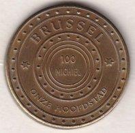100 MICHIEL 1983 BRUSSEL ONZE HOOFDSTAD BRUXELLES NOTRE CAPITAL - Gemeentepenningen