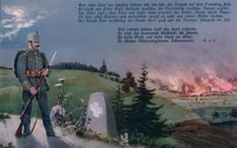 Armée Suisse Aux Frontières (5986) - Oorlog 1914-18