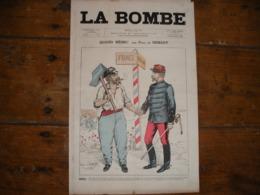 - JOURNAL, LA BOMBE Du 14 AVRIL 1889, 2 Pages, TBE - Periódicos