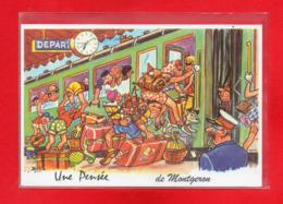 91-CPSM MONTGERON - Montgeron