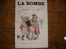 - JOURNAL, LA BOMBE Du 20 Mars 1889, 2 Pages, TBE - 1850 - 1899