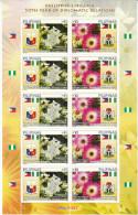 Philippinen 2013**, Kaktus, Sukkulente Mesembryanthemum / Philippines 2013, MNH, Cactus, Succulent Mesembryanthemum - Sukkulenten