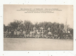 Cp, Les Tirailleurs MALGACHES à La TREMBLADE En 1917 , Charente Inférieure , Vierge , N° 3581 - Personaggi