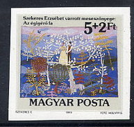 HUNGARY 1989 Youth Charity Imperforate MNH / **.  Michel 4014B - Hungría