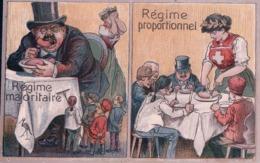 Politique Suisse, Propagande, Votation Pour La Proportionnelle, Litho (986) - Autres