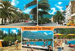 Montenegro - Tivat - Pozdrav Iz Tivta - Multivues - Multiview - Semi Moderne Grand Format - Bon état - Montenegro