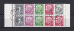 BRD - 1958/60 - Michel Nr. H-Bl. 8 - Gest. - 70 Euro - [7] Federal Republic