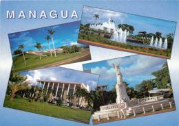 Nicaragua - Managua - Multivues - Multiview - Moderne Grand Format - Bon état - Nicaragua