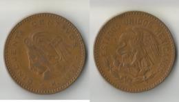 MEXIQUE 50 CENTAVOS 1957 - Mexico