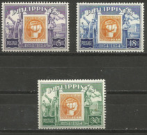 Philippines - 1954 Stamp Centenary (postage)  MNH **   Sc 605-7 - Philippines