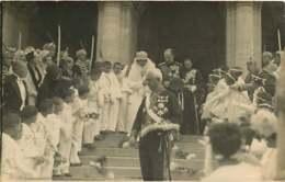 130919E - FAMILLE ROYALE DE BULGARIE - 1930 Mariage Des Souverains Bulgares à Sofia Fin De La Cérémonie - Identified Persons