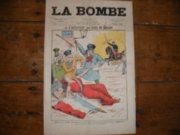 - JOURNAL, LA BOMBE Du 21 Juillet 1889, 2 Pages, - 1850 - 1899