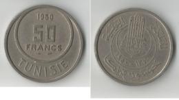 TUNISIE 50 FRANCS 1950 - Tunisie