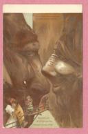 Suisse - Alpes - SURREALISME - Gorges De L' Aar - KILLINGER N° 102 - Carte Attribuée à Emil HANSEN - NOLDE - Illustratori & Fotografie