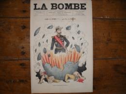 - JOURNAL, LA BOMBE Du 8 Septembre 1889, 2 Pages, - Periódicos