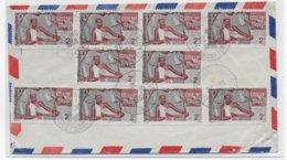 COTE DES SOMALIS - 1958 - ENVELOPPE Par AVION De DJIBOUTI AVION => MARSEILLE - Lettres & Documents