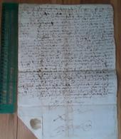 Tournon Ardèche Grand Document Fait à Tournon 1639 Dim: 39 X 29 Cm - Manuscrits