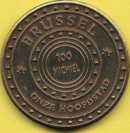 100 MICHIEL 1983 BRUSSEL ONZE HOOFDSTAD - Gemeentepenningen