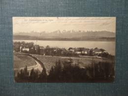 Cormondrèche Et Les Alpes  1912  (6096) - NE Neuchatel