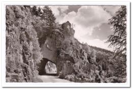 Kirschbaumwasen Im Romantischen Murgtal Felsentunnel ( Small Fold Top Right ) - Duitsland