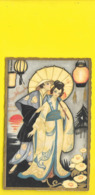 Geisha Art Déco (Ballerini & Fratini) - Künstlerkarten