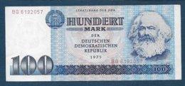 ALLEMAGNE - Billet De 100 Mark De 1975 - [ 6] 1949-1990 : RDA - Rép. Dém. Allemande