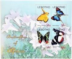 Lesotho 2007**Mi.1981-84 Butterflies , MNH [3;37] - Schmetterlinge