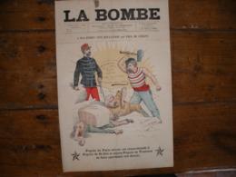 - JOURNAL, LA BOMBE Du 29 Septembre 1889, 2 Pages, - 1850 - 1899