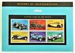St.Vincent & Gren. 1995**Mi.3321-27 Classic Cars Of The World , MNH [12179] - Autos