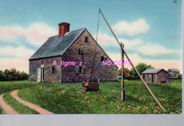 REF 421 : CPSM Etats Unis Nantucket Jethro Coffin House - Nantucket
