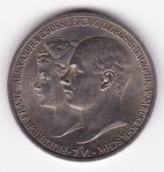 Nb_ Deutsches Reich - Mecklenburg-Schwerin - 2 Mark - 1904  -  Hochzeit Vermählung (35) - 2, 3 & 5 Mark Argento