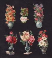 Découpis   Lot De 6    Pots De Fleurs       10 X 6 Cm Le Plus Grand - Découpis