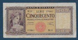 ITALIE - Billet De 1000 Lire De 1947 - [ 2] 1946-… : République