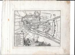 Gravure 17ème Siècle Ville Liège - Prints & Engravings