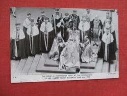 Coronation Of H.M. Queen Elizabeth June 2 1953  Ref 3611 - Royal Families