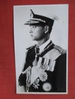 NON Postcard Photo     Military Uniform    Ref 3611 - Royal Families