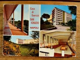 (FG.Y54) NAPOLI - CASA DI ESERCIZI SAN IGNAZIO Dei P.P. Gesuiti - VEDUTE VEDUTINE (viaggiata 1978) - Napoli