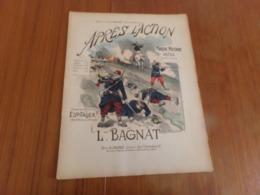 """Partition """" Après L'action """" Marche Militaire Ou Défilé Par Bagnat - Partitions Musicales Anciennes"""