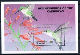 Bloc Sheet Oiseaux Colibris Birds Hummingbirds  Neuf MNH **  Dominica 1992 - Autres