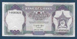 GHANA - Billet De 500 Cedis De 1990 - Ghana